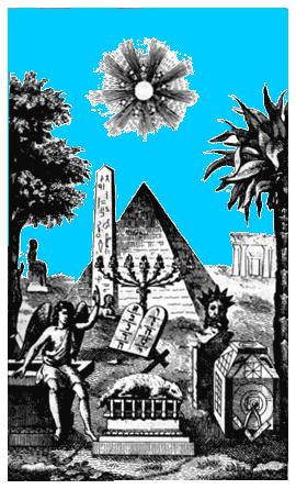 Síntesis de varias tradiciones presentes en la Masonería.